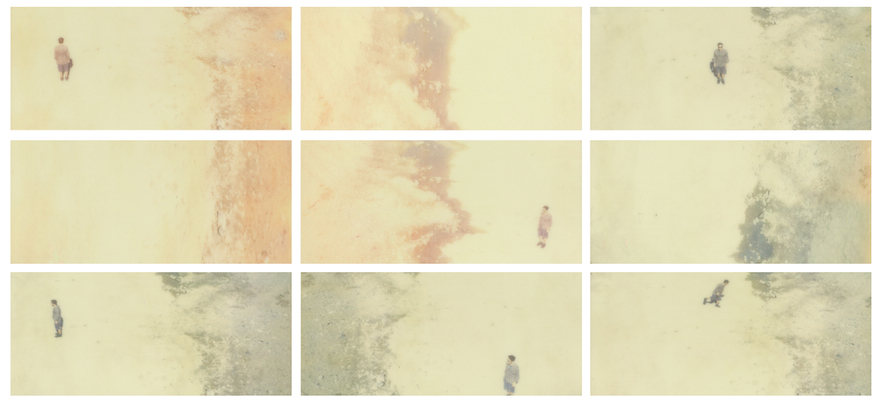 the earth tastes of salt  . ( impossible color f )